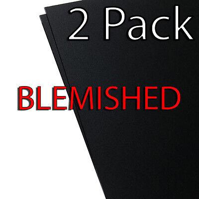 Blemished - 2 Pack - Kydex V Sheet Black - 8