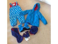Muddy Puddles 12-18 month winter waterproof ski wear