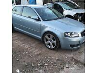 Audi A3 2.0 fsi breaking 2004-2008 3 door s line alloys doors bumpers headlights engine gearbox
