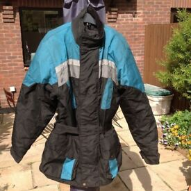 "Frank Thomas water proof ""Aqua"" motorcycle jacket."