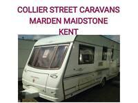 2004 coachman vip 520/4 berth caravan + movers Maidstone Kent