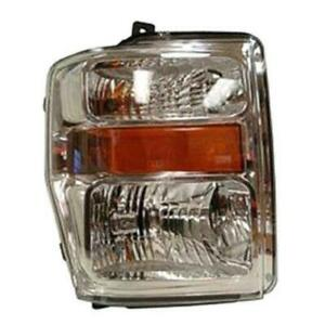 New 2008 2009 2010 Ford F250 F350 F450 F550 Headlight
