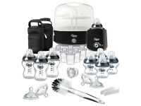 Tommee Tippee closer to nature complete feeding kit - black - originally purchased from Mothercare