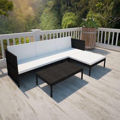 Garden Furniture - 9 Pcs Outdoor Wicker Sofa Set Patio Rattan Sectional Furniture Garden Deck Couch