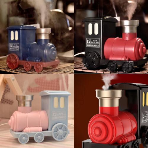 Creative Train Shaped Household Ultrasonic Aroma Diffuser USB Air Humidifier