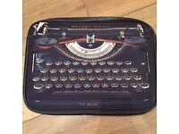 Ted Baker Laptop Cover - Vintage Typewriter Style