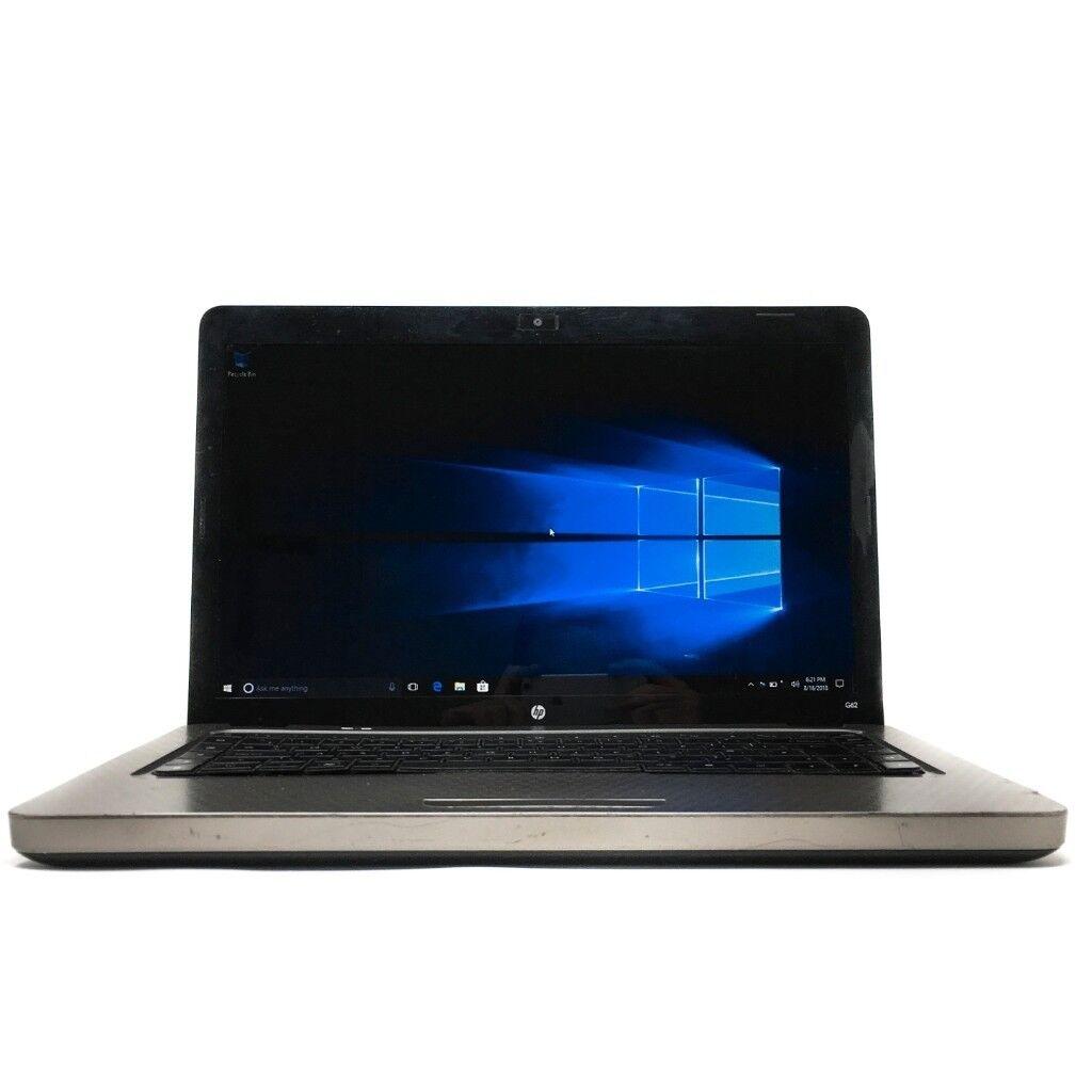 HP G62 Laptop - Intel i3, 4GB DDR 3, 250GB HDD, Windows 10 / 6 months  guarantee