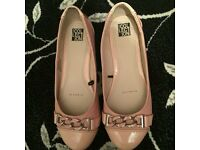 Debenhams Brand new cream dolly shoes