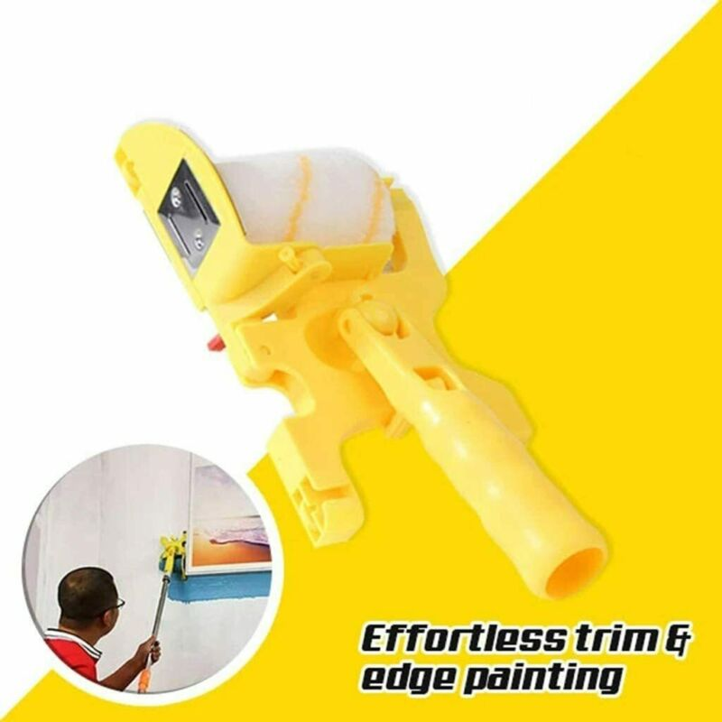Clean Cut Paint Edger Roller Runner pro Brush Set for Home Wall Ceilings