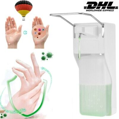 Desinfektionsmittelspender Seifenspender Edelstahl Wandmontage Eurospender 1L