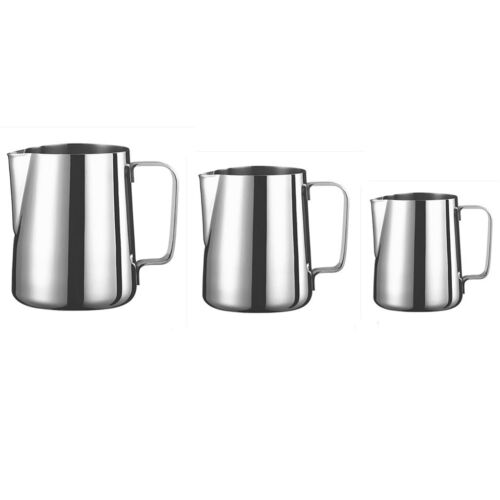 Milk Cup Frothing Pitcher Steam Stainless Steel Espresso Mil