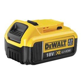 Dewalt batteries 4.0