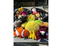 Free teddies and soft toys