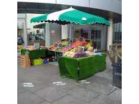 Fruit stall at hospital. apply now!