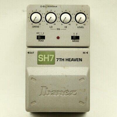 Ibanez SH7 7TH HEAVEN Tone Lok Distortion guitar effect pedal (00203231)