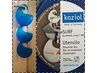 Koziol Surf Organiser Linkable Hanging Basket Shower Storage