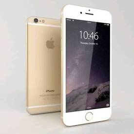 iPhone 6 64gb Gold Unlocked Scratchless Screen Working Phone
