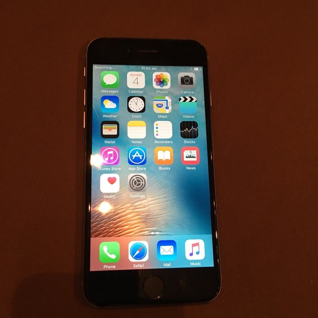 iPhone 6 space grey 128GB Vodafone