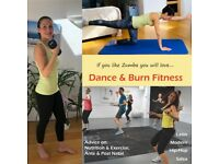 Small group Online Dance Fitness, Body Conditioning and Mat Pilates classes (for all fitness levels)