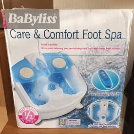Babyliss Care And Comfort Foot Spa