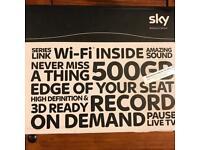 Sky box HD 500 GB