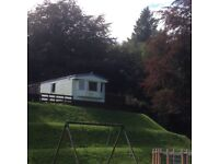 Atlas Everglade Super 35x12 2 bedrooms static caravan for sale with large wooden decking + fab views