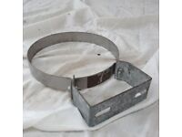 Stainless steel stove pipe bracket
