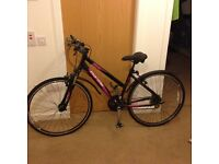 Ladies Bike...... Hardly Used ( twice) selling as I need the space... some extras thrown in ,