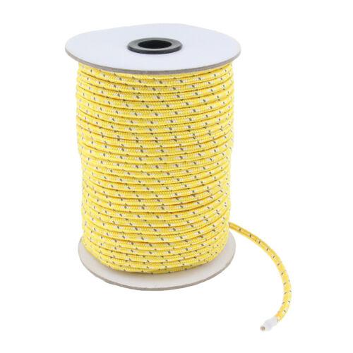 Leuchtend Zelt Seil Reflektierend Abspannseile aus Polyester für Camping