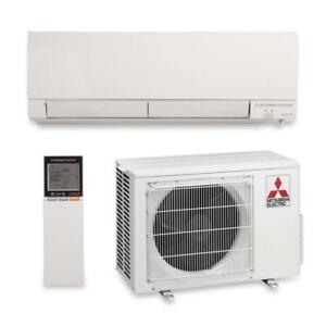 Mitsubishi- Indoor Air Conditioner, Non-Inverter, Wall Mounted 12K BTU, R410A- MS-A12WA-1