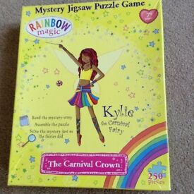 Mystery jigsaw puzzle game