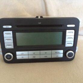 VW car radio as new
