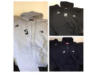 Men's THE NORTH FACE Tracksuit - Full Set - 3 colours - Joggers and Hoodies