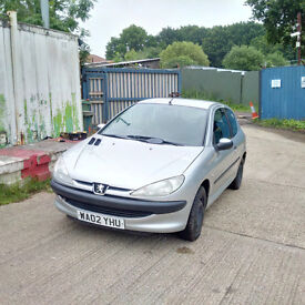 PEUGEOT 206 2.0 HDI LX 90 BHP Air conditioning. MOT till July 2017.