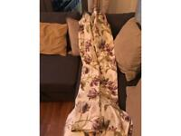 Laura Ashley Gosford Plum curtains fully lined