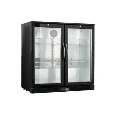 Procool Counter Height 2-door Back Bar Beverage Cooler Glass Front Beer Fridge