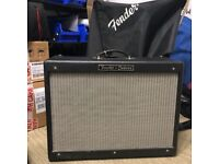 Fender Hot Rod Deluxe Combo 40w guitar amp - inc. cover and pedal