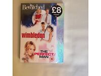 Bewitched, Wimbledon and The Perfect Man DVD box set. Unopened and still sealed £3
