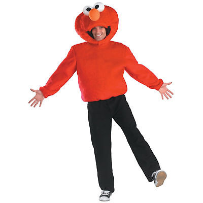 ELMO COSTUME Plush Adult Mens 42