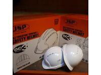 Evolite Vented Helmets White Ajb160-000-100 Pack of 10