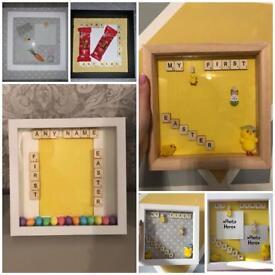 Handmade Easter frames