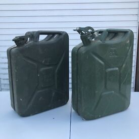 Jerry cans x2