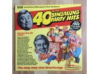 "40 All Time Singalong Party Hits LP - Bernard Manning & Joe ""Piano"" Henderson"