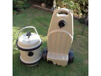 Aquaroll 40lt with handle and wastemaster