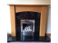 Gas Fire Hearth and Surround