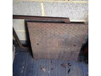 man hole cover and frame,heavy-duty ,