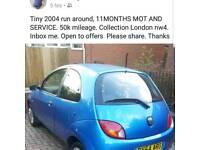 2004 Ford ka 1.3 for sale
