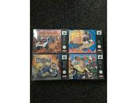 Nintendo 64 Games - Boxed Complete- £99 Each