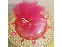 Indian Wedding Celebration Shagun Tray