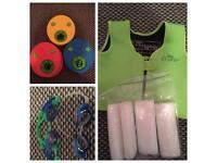 Kids swimming - Swim tech arm bands, age 4-5 buoyancy jacket & 2 x goggles